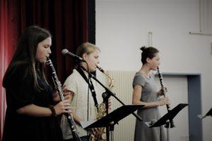 Bläserklassen-Unterricht an Musikschule Detmold